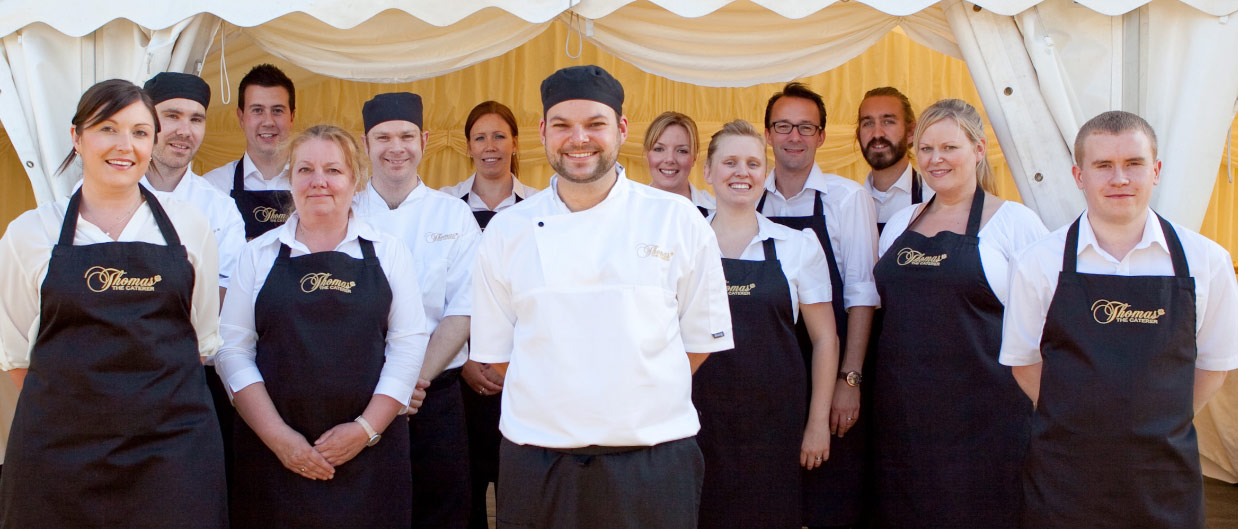 Our Award Winning Wedding Catering Team