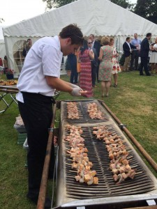 wedding catering bbq