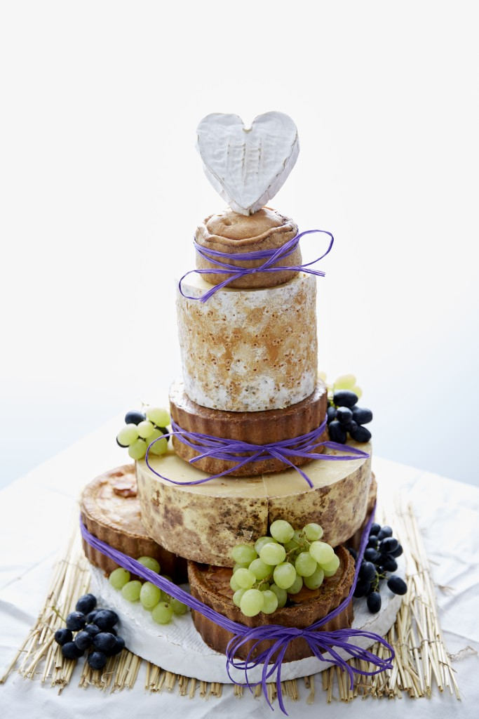 pork pie cheese wedding cake