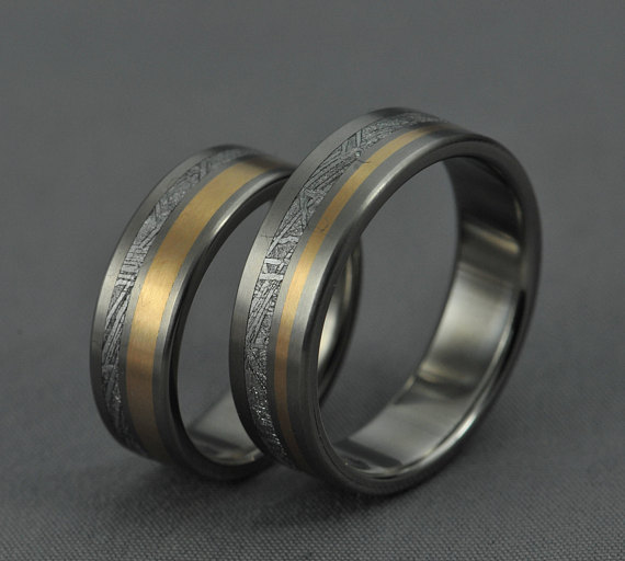 How cool is this funky wedding bands thomas the caterer for Funky wedding rings