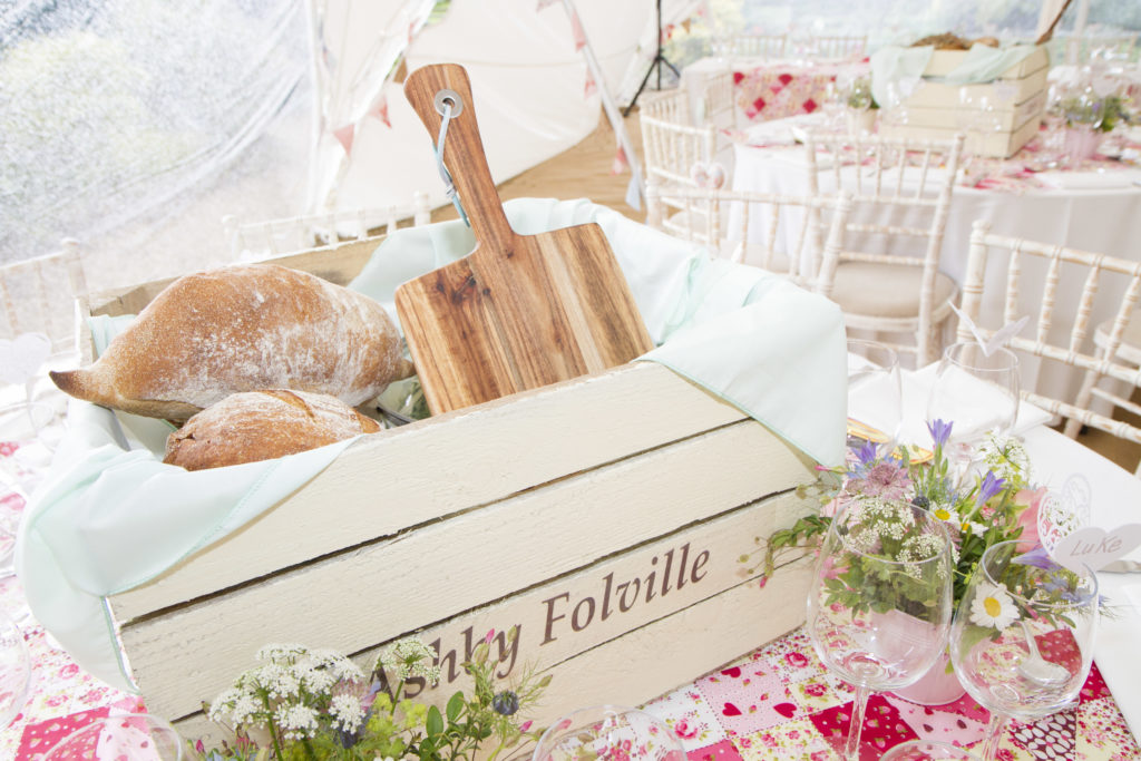 Wedding picnic boxes
