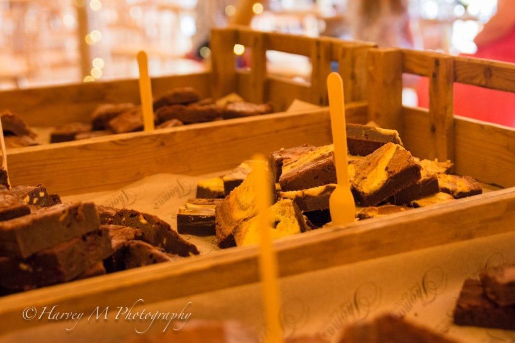 Wedding Catering Brownies