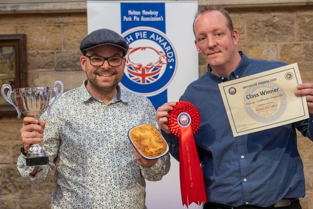 Class winner at british pie awards Best vegetarian pie